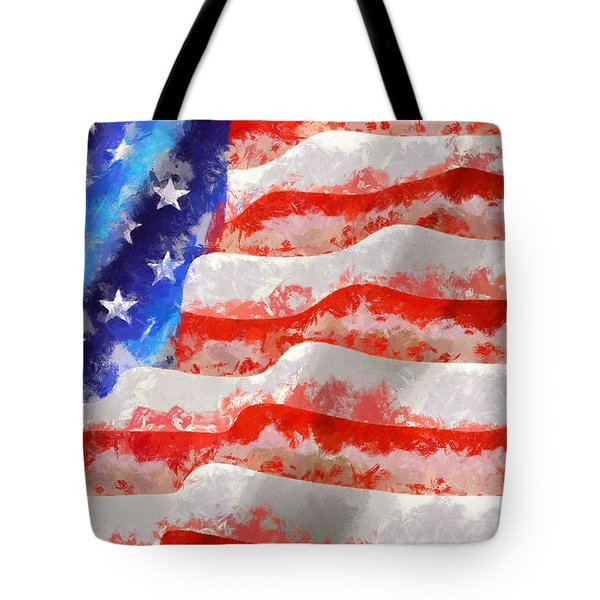 Wave It High Tote Bag