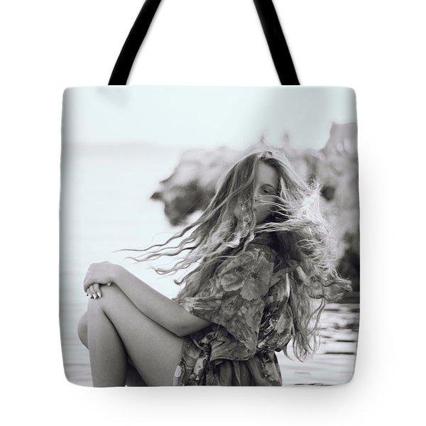 Wave It Tote Bag
