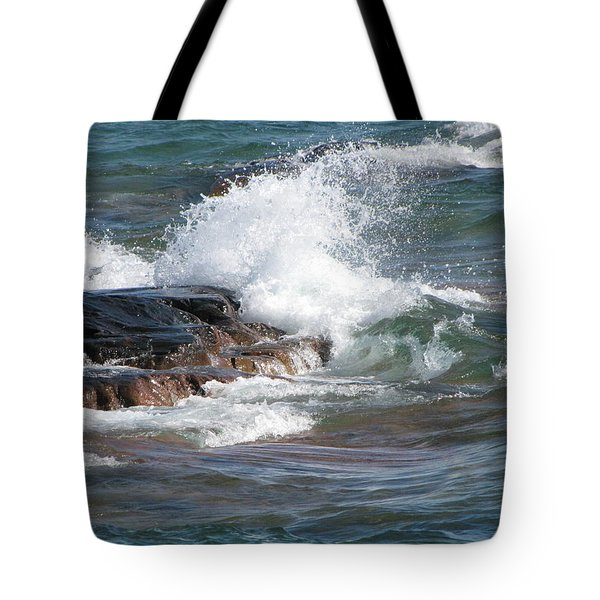 Wave Length Tote Bag