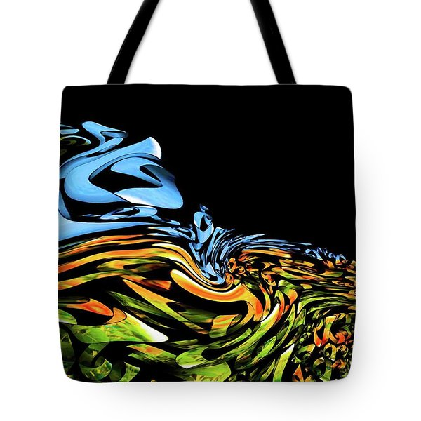 Wave Of Colors Tote Bag