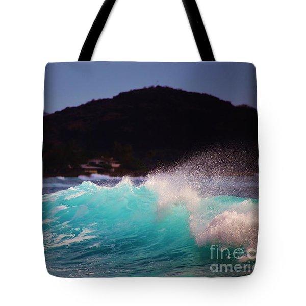 Wave Of Fantasy Tote Bag