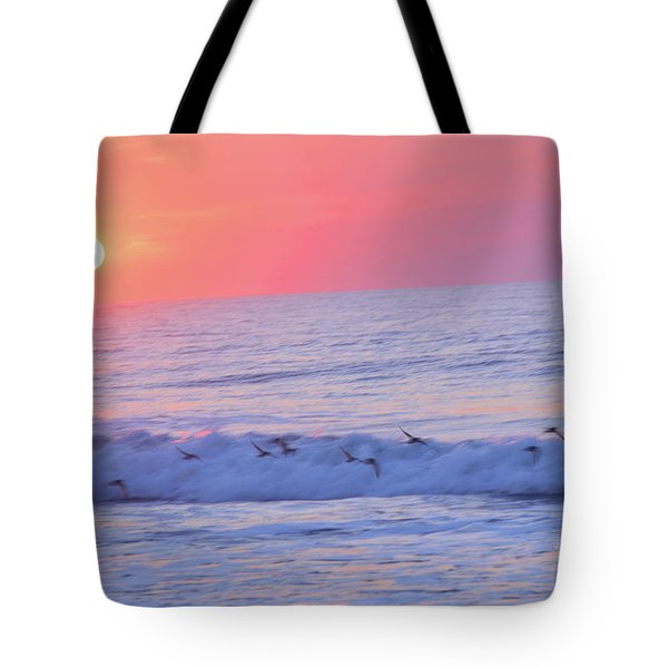 Wave Of Gratitude Nature Art Tote Bag