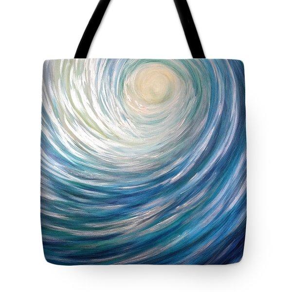 Wave Of Light Tote Bag