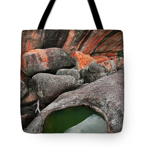 Wave Rock Tote Bag