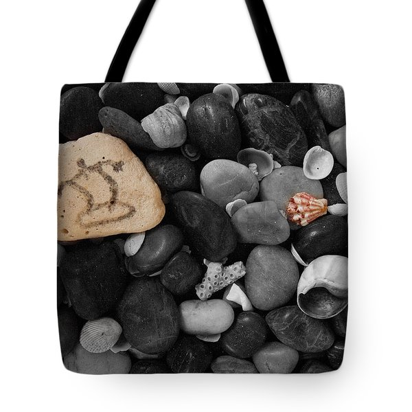 Wave Rocks Tote Bag