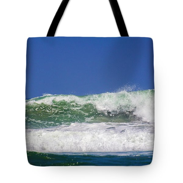 Wave Rolling To The Beach Tote Bag