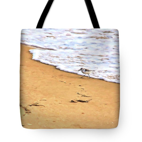 Tote Bag featuring the photograph Wave Runner by Jan Amiss Photography