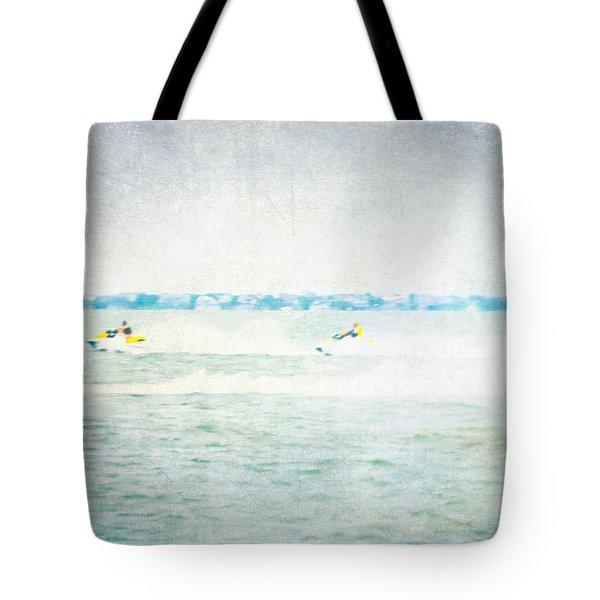 Wave Runners Tote Bag