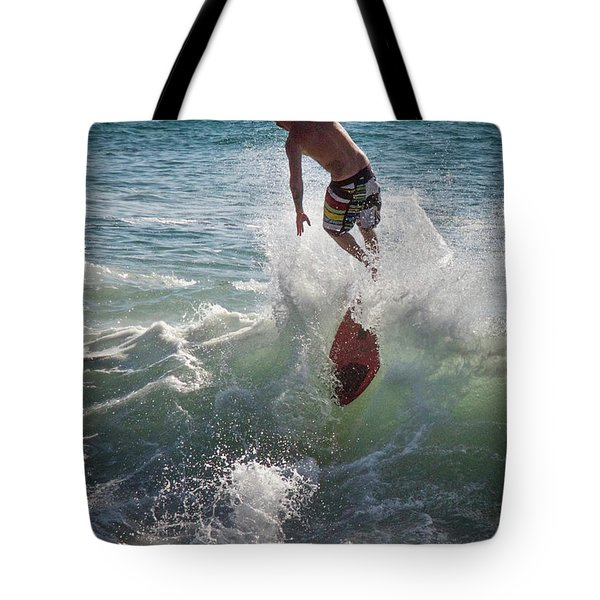 Wave Skimmer Tote Bag