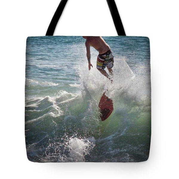 Wave Skimmer Tote Bag