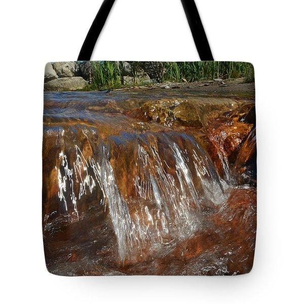 Wave Splash - Wards Beach Tote Bag
