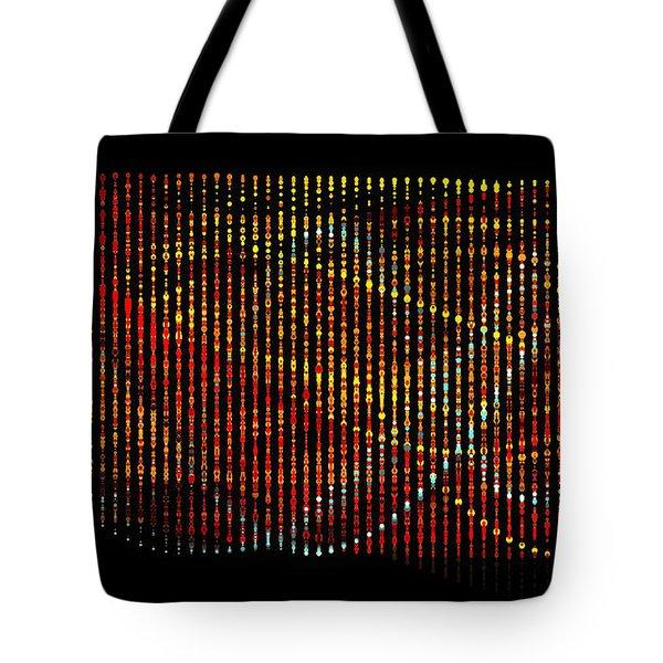 Abstract Visuals - Wavelengths Tote Bag