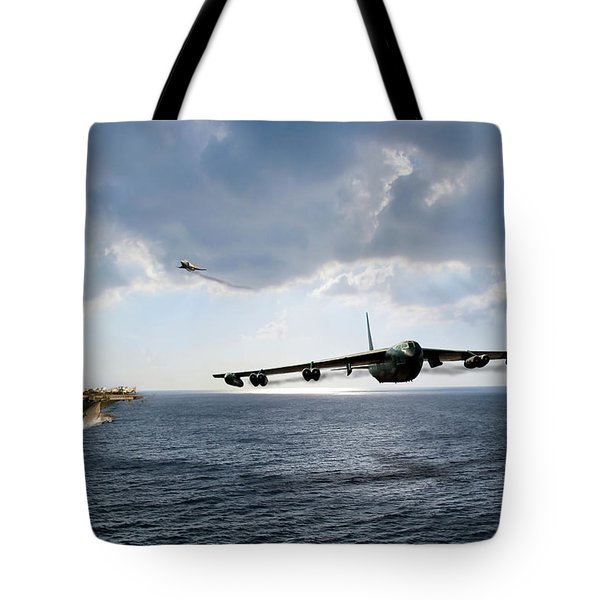 Waverunner Tote Bag by Peter Chilelli