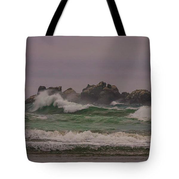 Waves 1 Tote Bag by Ulrich Burkhalter