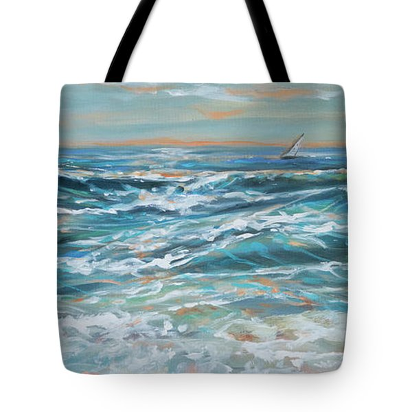 Waves And Wind Tote Bag