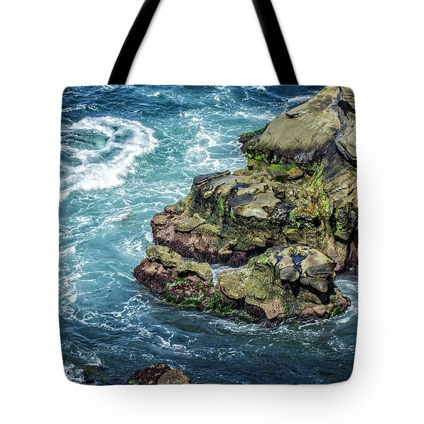 Waves Of Blue Tote Bag
