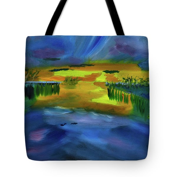 Waves Of Change Tote Bag