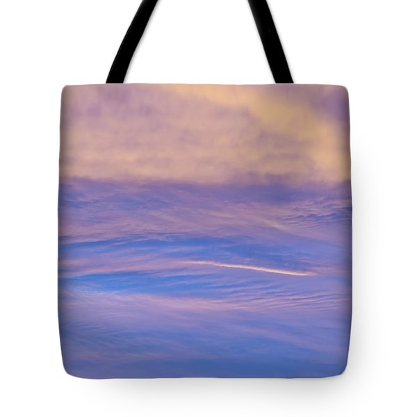 Tote Bag featuring the photograph Waves Of Color by Wanda Krack