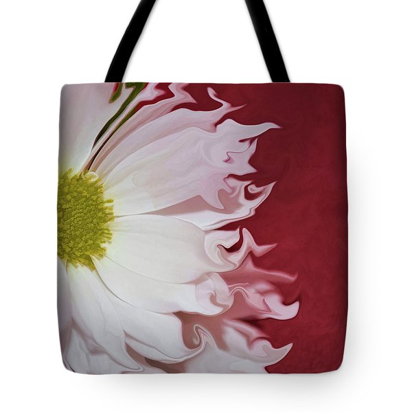 Waves Of White Tote Bag