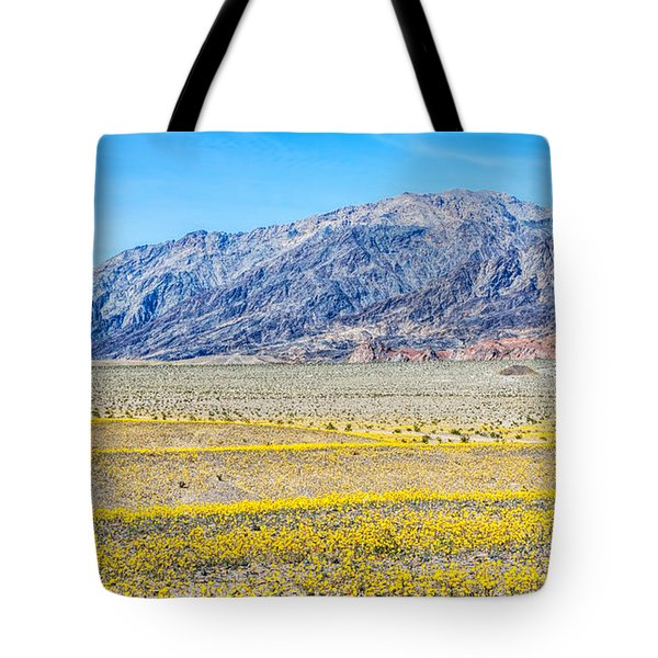 Waves Of Yellow Tote Bag