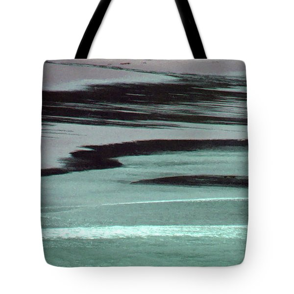 Waves On The Beach Tote Bag by Methune Hively