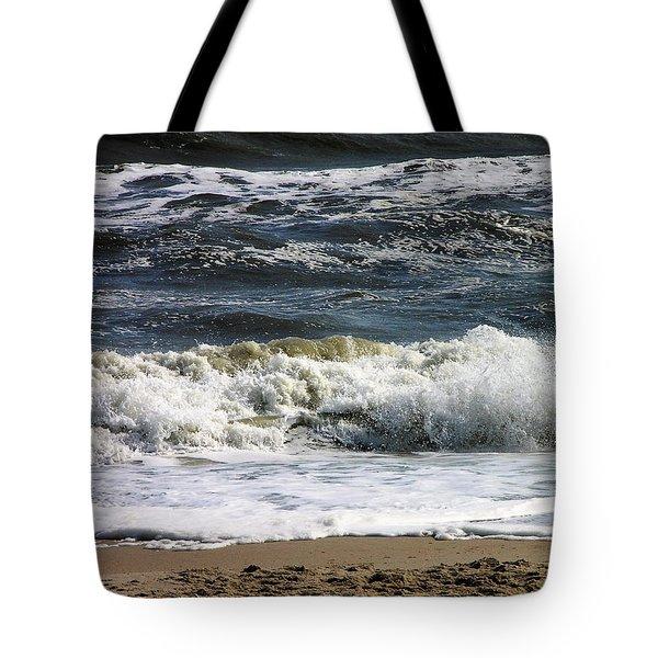 Waves, Waves, Waves Tote Bag