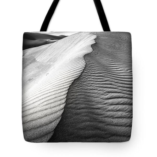 Tote Bag featuring the photograph Wavetheory V by Ryan Weddle