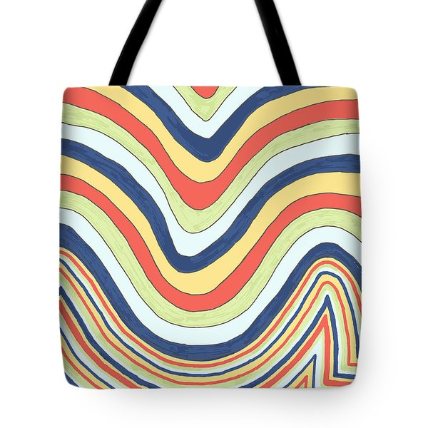 Waving Tote Bag