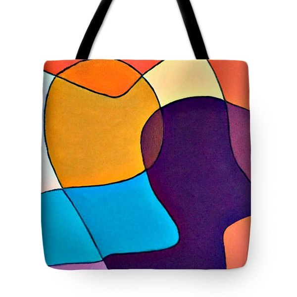 Wavy Hair Tote Bag by Shelley Graham Turner