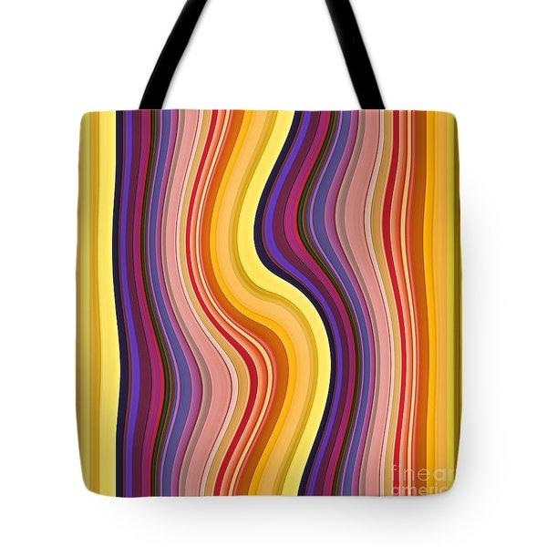 Wavy Stripes 1 Tote Bag