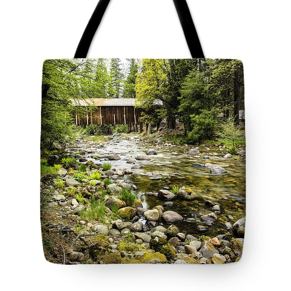 Wawona Covered Bridge  Tote Bag