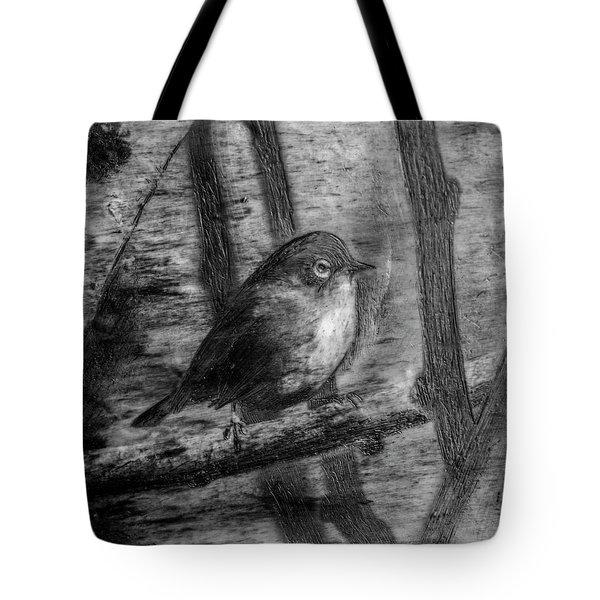 Wax-eye Tote Bag