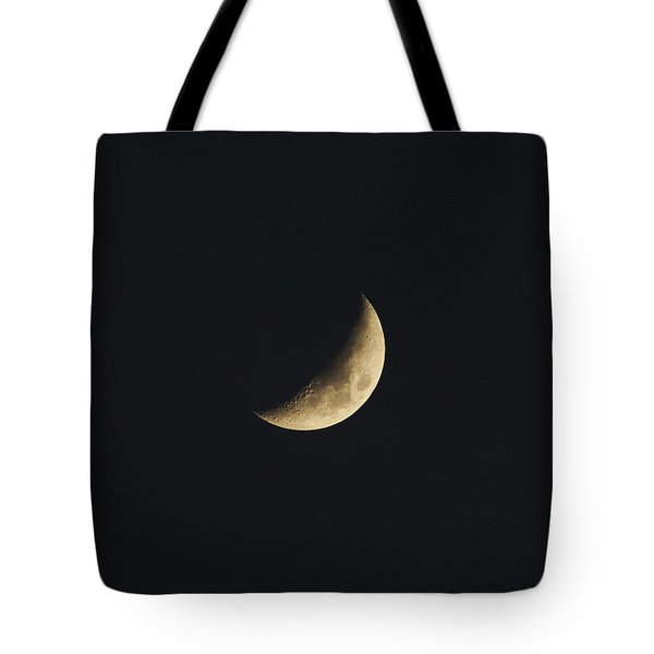 Waxing Crescent Spring 2017 Tote Bag by Jason Coward