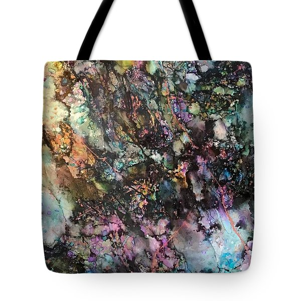 Way Down She Goes Tote Bag