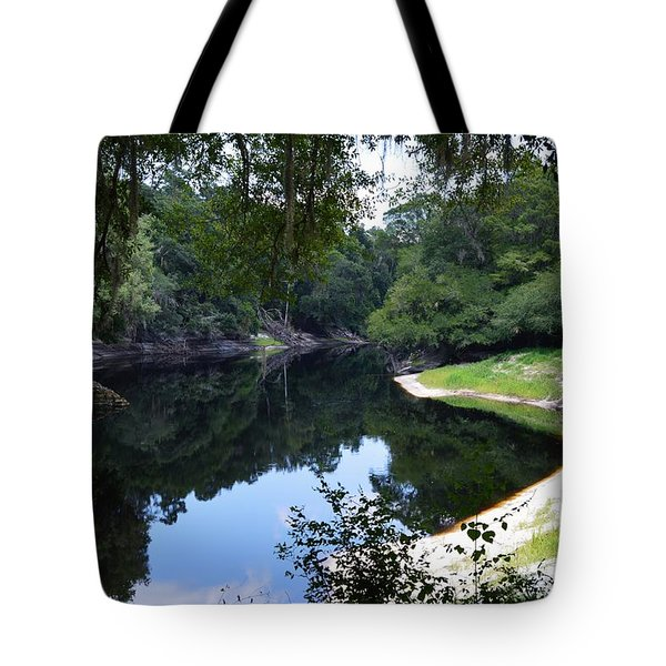 Way Down Upon The Suwannee River Tote Bag