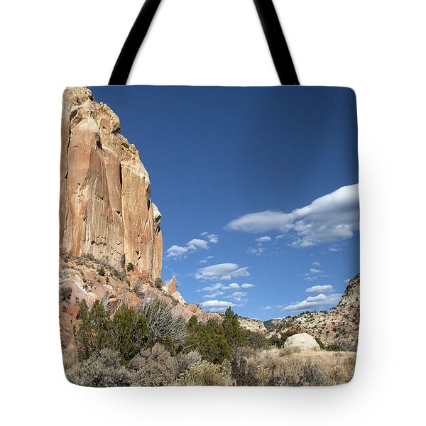 Way In The Distance Tote Bag