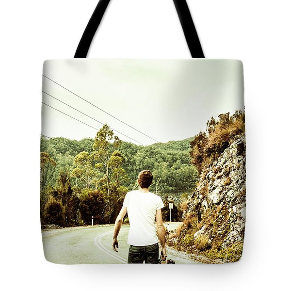 Way Of Old Travel Tote Bag