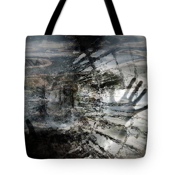 Tote Bag featuring the photograph Way Out  by Danica Radman