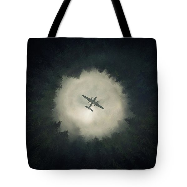 Way Out Tote Bag by Zoltan Toth