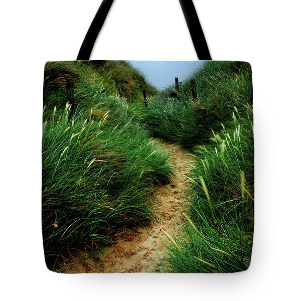 Way Through The Dunes Tote Bag by Hannes Cmarits