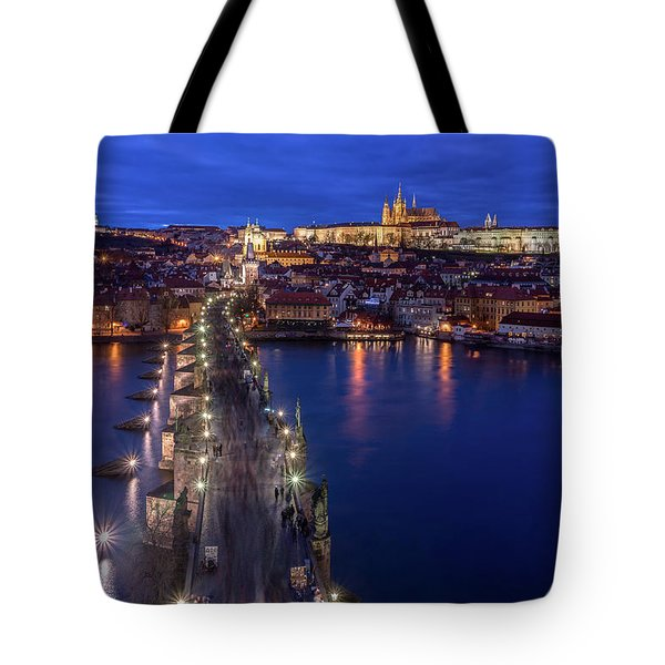 Way To The Castle Tote Bag