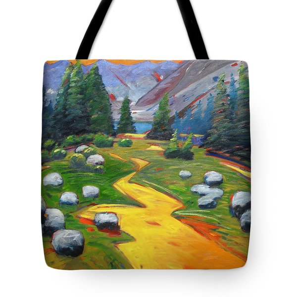 Way To The Lake Tote Bag