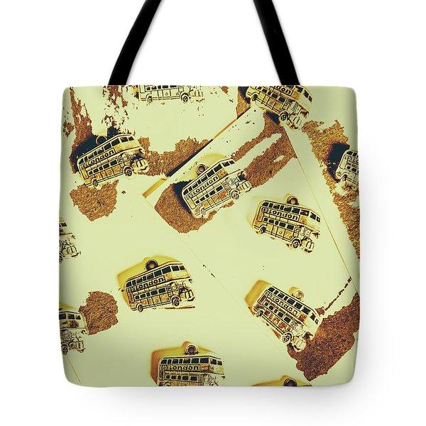 Wayback England Tote Bag