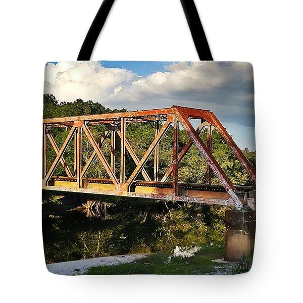 Waycross Trestle Bridge Tote Bag