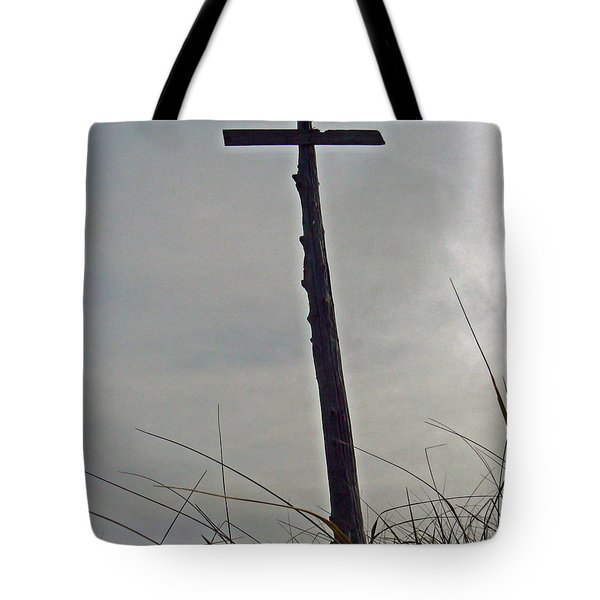 Wayfarer Beach Totem  Tote Bag