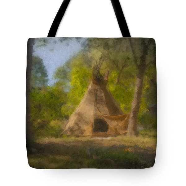 Wayne And Karen's Teepee Tote Bag