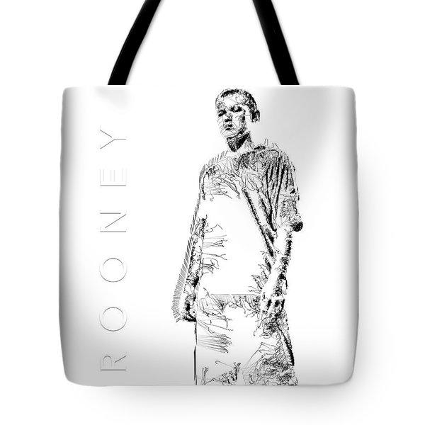 Wayne Rooney Tote Bag by ISAW Gallery