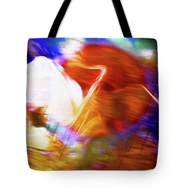 Wayne Shorter   Digital Watercolor Paintings Tote Bag