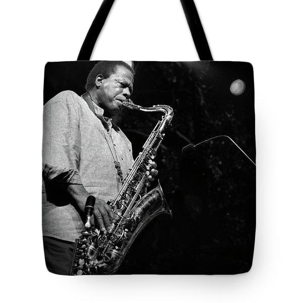 Wayne Shorter Discography Tote Bag