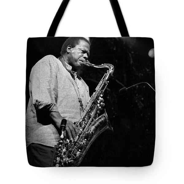Wayne Shorter Discography Tote Bag